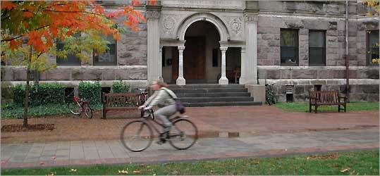 Princeton's campus.