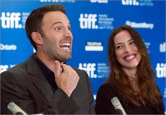 Ben Affleck and Rebecca Hall