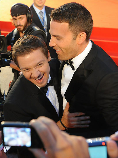 Jeremy Renner (left) and Ben Affleck