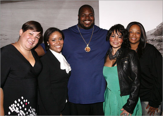 Vince Wilfork and fans