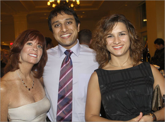 Maureen Ryan of Watertown, Dr. Manoj Dalmia of Brookline, and Dr. Milica Markovic of Boston.
