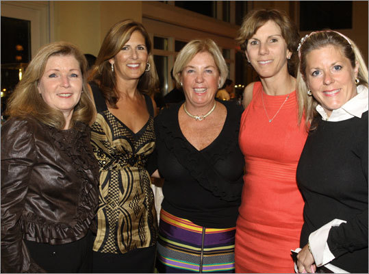 Sheila Vieth, Leslie MacKinnon, Dianne Reilly, Sue Decoste, and Mary Wheeler