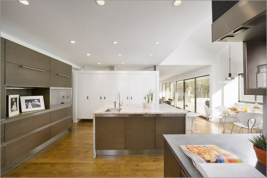 kitchen designed by Ruhl Walker Architects