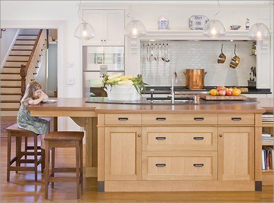 A New Kitchen In Newton - Boston.Com