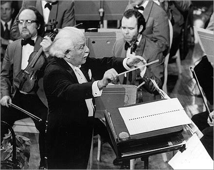 Arthur Fiedler: Conductor of the Boston Pops for nearly 50 years, beginning in 1930, he helped popularize classical music with lighthearted performances.