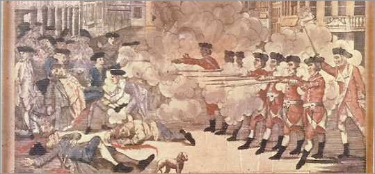 The Boston Massacre.