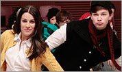 Scene from 'Glee'