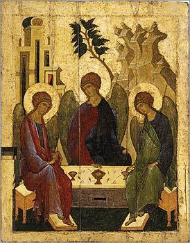 Old Testament Trinity, circa 1500.
