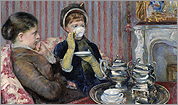 'The Tea,' Mary Stevenson Cassatt