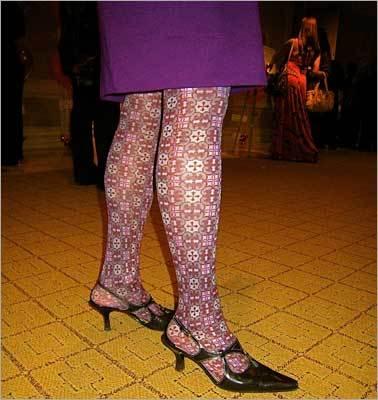 Bold tights