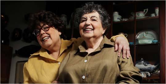 Marilynn (left) and Sheila Brass.
