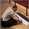 One man: 5,000 labels for 5,000 artworks