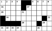 MFA-themed crossword puzzle