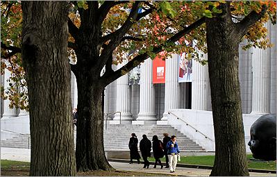 MFA's Fenway entrance