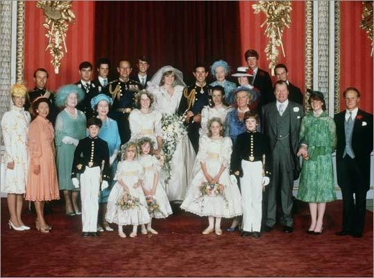 A family portrait taken after the royal wedding.