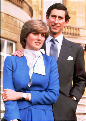 Prince Charles and the then