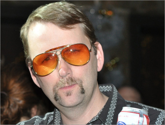 Jim Storer Lynnfield 'My wife and kids think it's funny,' says Jim Storer of his family's reaction to his mustache, which was inspired by 'Dukes of Hazzard' star John Schneider. 'I'm getting lots of kisses on the cheek this year.' Storer works out of a home office as a social media strategist, and on the recent occasion he ventured to a client meeting, he was met with some curious looks. 'People think you're a little odd when they first see you and then you explain it to them and they warm up to it.' Pictured is Storer's mustache from Movember last year.