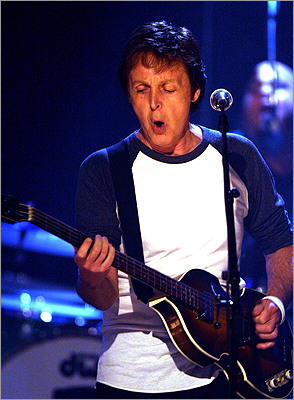 Paul McCartney in 2007