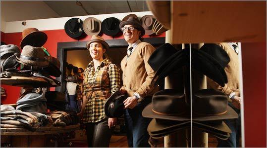 Jessen Fitzpatrick (left) and Andria Rapagnola, owners of Samagundi.