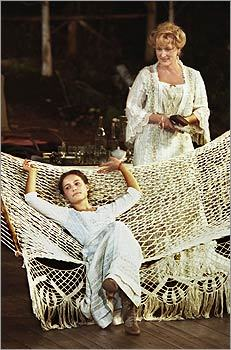 In 2001, she joined a star-studded cast including Meryl Streep (right), Christopher Walken, Philip Seymour Hoffman, John Goodman, and Kevin Kline for a production of Anton Chekhov's play 'The Seagull,' presented by Joseph Papp Public Theater/New York Shakespeare Festival.