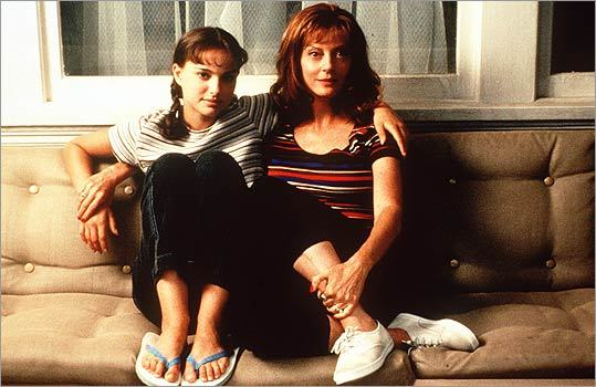 "The ""momma was a rolling stone'' drama, 1999's 'Anywhere But Here,' directed by Wayne Wang, featured Susan Sarandon (right) dragging Portman across the country. This is still one of the most complex portrait's of adolescence in an American movie. Portman is the serious daughter. She resents her mother's sexuality and extroversion but finds herself secretly thrilled at the power they have over boys. She doesn't out-act Sarandon, who hasn't been as ferociously charismatic since. She just outthinks her. In one amazing scene, she tries to seduce a young neighbor, then berates him for succumbing to her. That might be the secret trap door of Portman's success. — W.M."