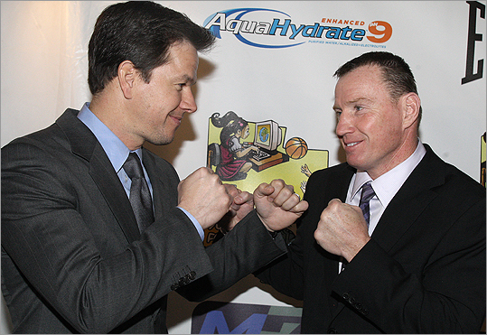 Mark Wahlberg and Micky Ward