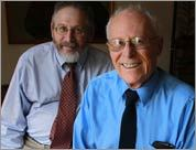 Michael Kraus is joined in his home by Boston University professor Dr. Michael Grodin, who is studying Kamarad .