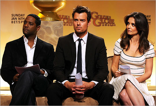 Blair Underwood, Josh Duhamel, and Katie Holmes were on hand to announce the nominees for the 68th annual Golden Globe Awards on Dec. 14 in Los Angeles. The award show will be held Jan. 16 at 8 p.m. Eastern Time and broadcast on NBC. Take a look at the nominees in the major categories ...