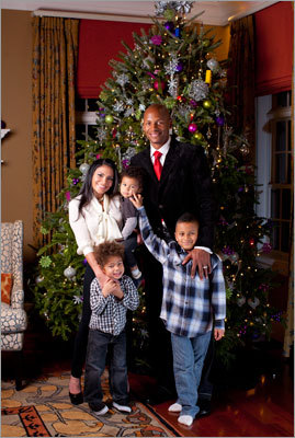 Ray and Shannon Allen and three of their children.