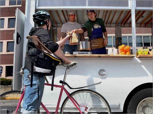 Giving food trucks a hand