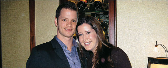 Michael Foster and Juliana Casale