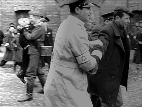 'A Film Unfinished' In 1942, the Nazis sent a camera crew to the Warsaw Ghetto ostensibly to document the lives of the Jews living there. The film was never finished or released, but Israeli filmmaker Yael Hersonski patiently peels back the layers of surviving footage and outtakes to show how the Germans staged sequences set at fake banquets and in nonexistent nightclubs while simultaneously capturing the reality of corpses in the street. Hersonski has given us a gift — an essential dissection of propaganda as it occurs on the fly — but then she goes further and reclaims the footage as memory in the eyes of aging Ghetto survivors who watch the old film and gasp as they glimpse people they knew and loved. — T.B.