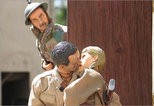 "5. 'Marwencol' Documentaries, by contrast, rarely get as eerily personal as ""Marwencol,'' Jeff Malmberg's film about a Kingston, N.Y., man who recovered from a brutal beating and a coma by building a miniature World War II village in his backyard, complete with doll versions of his friends and family and a rich narrative of sacrifice and healing. Mark Hogancamp could be Andy from ""Toy Story'' grown into a sweet-souled lost boy, and his make-believe town is both a therapeutic response to the waking world and a better version of it."