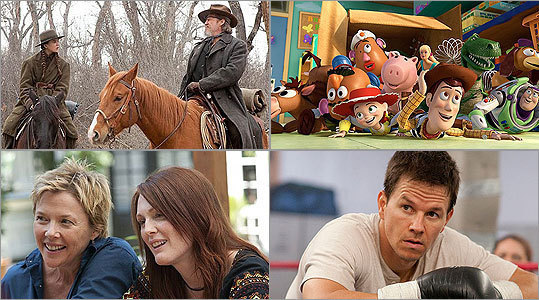 Ty Burr : How is a critic to interpret a year in film that just didn't send him? Are the movies to blame or is he? For the first time in recent memory, I had to wrack my brain to come up with an annual Top 10 list. There were films I liked and even loved, but precious few that stood above the fray and seemed built to last longer than the long tail of their release patterns.