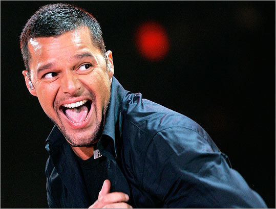 17. Ricky Martin announces he's gay In March, Puerto Rican singer Ricky Martin took to social networking site Twitter to make a big statement (in 140 characters or less). 'I am proud to say that I am a fortunate homosexual man,' Martin wrote. 'I am very blessed to be who I am.' This announcement came after years of speculation about the performer's sexual identity, something he kept hidden out of fear it would hurt his career. It wasn't until the birth of his twin boys via surrogate in 2008 and the writing of his memoir that Martin decided to make this private matter public.