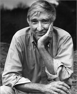 Author John Updike.
