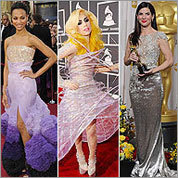Memorable red carpet moments in 2010