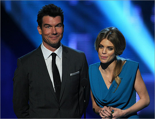 Jerry O'Connell and AnnaLynne McCord