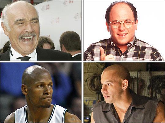 bald celebrities