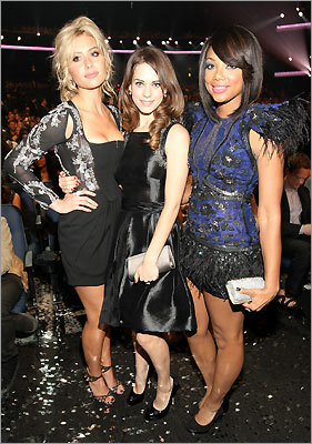 Alyson Michalka, Lyndsy Fonseca, and Tiffany Hines.
