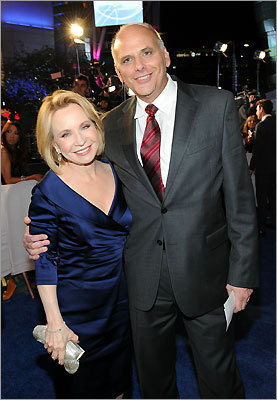 Actors Debra Jo Rupp and Kurt Fuller