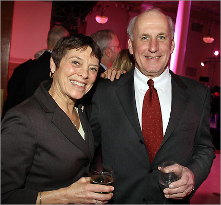Wendy Fox and her husband, Al Larkin, both of Milton.