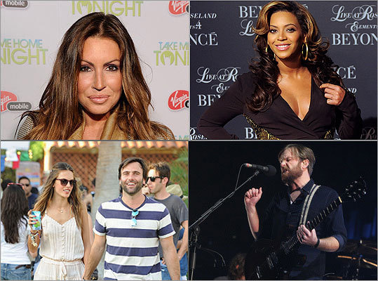 HOLLYWOOD'S NEWEST LITTLE STARS Beyonce is a mom, while notable names such as Alessandra Ambrosio , Rachel Uchitel , and Caleb Followill are awaiting little ones. See which celebrities are celebrating — or expecting — special little deliveries. Celebrity Buzz: Latest entertainment headlines
