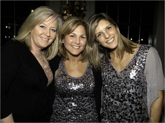 Patti Walsh, Tracy Hussey, and Amy Cream, all of Hingham.