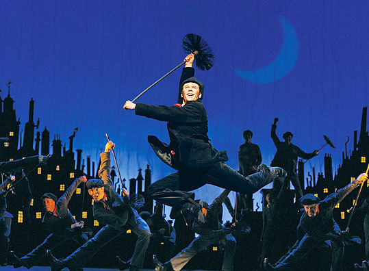 A stage adaptation of 'Mary Poppins' features new songs by Anthony Drewe and George Stiles.