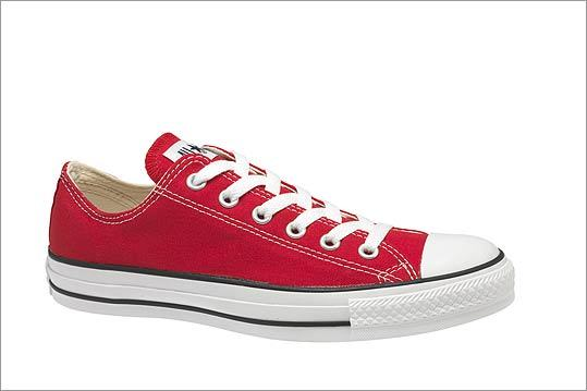 "Converse ""Chuck Taylor All Star"" sneakers, $45 at Converse, 348 Newbury Street, Boston, 617-424-5400, http://www.converse.com"