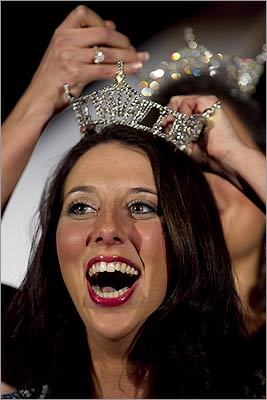 A crown fit for a queen -- or Miss Boston 2011.