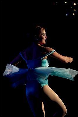 Marissa Louro of South Dartmouth performed a contemporary dance.