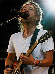 Radiohead frontman Thom Yorke.