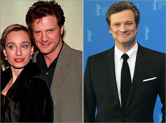 Best actor winner Colin Firth has always looked dapper, but he has cleaned up his red carpet image since the premiere of 'The English Patient' in 1996 (left, with Kristin Scott Thomas). For 'The King's Speech' photocall at the Berlin International Film Festival on Feb. 16, 2011 (right), he showed off a sleeker look.